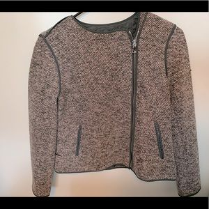 Ann Taylor Moto sweater Jacket- 2P NWOT